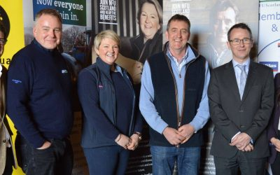 Campaign Launch For NFU Scotlands Champions Campaign
